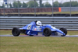 Iain Houston was the only FF driver to get under 100s (Andy Leivers)