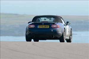 A new HSA record for Peter Taylor's MX5 (Neil Lambert)