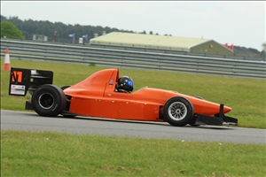Colin Calder returned to the winners circle at Snetterton (A Leivers)