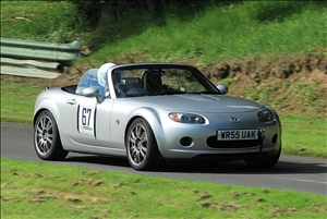 Alexander Smith set the pace among the MX5 entry (Chris Bennett)