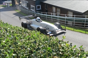 It was Firehawks day at Shelsley. This is Lindsay Summers (C Bennett)
