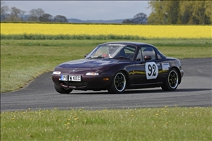 A Class win and record for Ken Morris MX5 (JCB Photography)