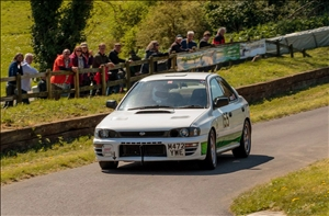 HSA class winner Justin Andrews was on record form  (Steve Lister)