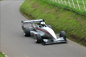 Gary Thomas in the Force PC at an earlier Shelsley meeting